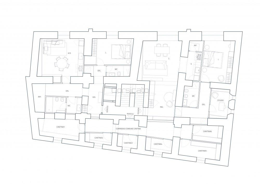 Immagine mappa del piano
